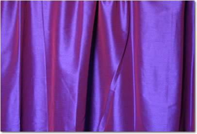 "Purple Dupioni - 108"" Round"