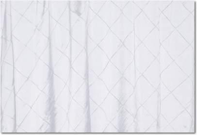 """White Pintuck - 90""""x132"""" Drape"""