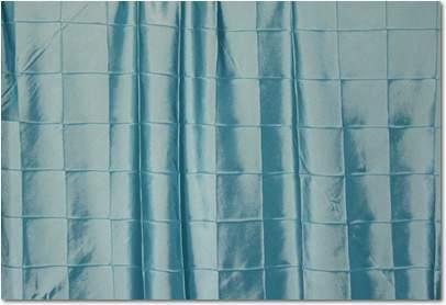 "Tiffany Blue Pintuck - 90"" Round"
