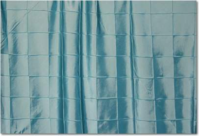 "Tiffany Blue Pintuck - 90""x132"" Drape"