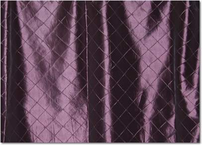 "Grape Pintuck - 90""x156"" Drape"