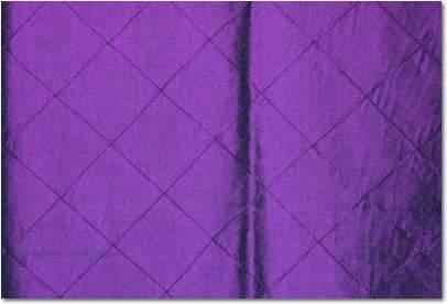 "Purple Pintuck - 120"" Round"