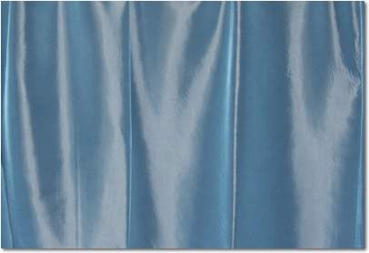 "Seaside Blue Taffeta - 126"" round"
