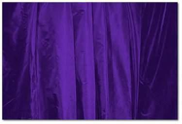 Deep Purple Taffeta
