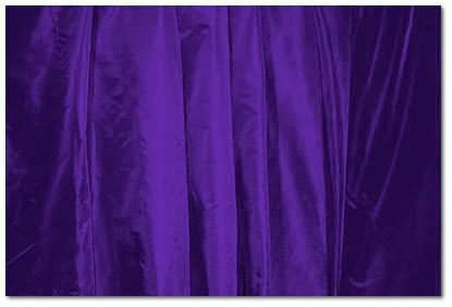 "Deep Purple Taffeta - 126"" round"