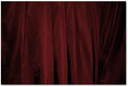 "Burgundy Taffeta - 90""x156"" drape"