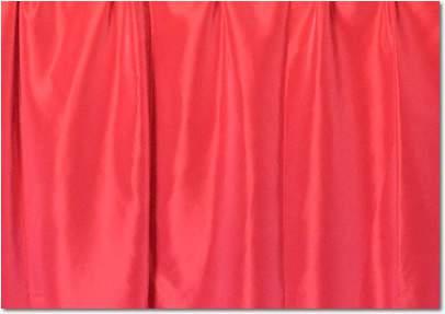 """Cardinal Taffeta - 90""""x132"""" drape"""