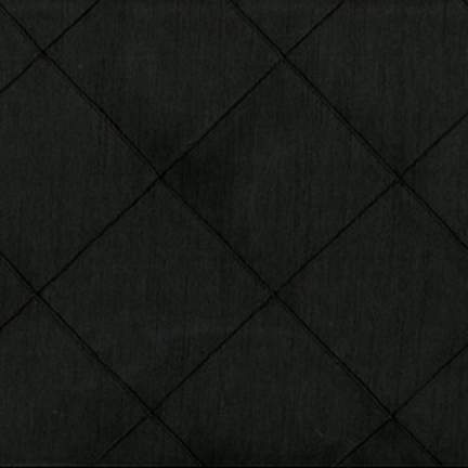"Pintuck 3"" Nova Black 90"" x 132"""