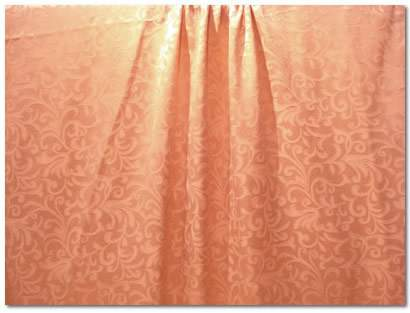 "Gold Somerset Damask - 90""x132"" Drape"