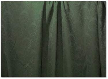Hunter Green Wellington Damask