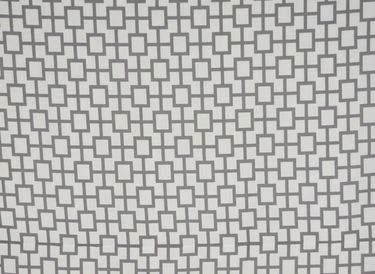 Grey & White Geo