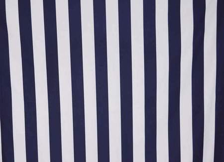 Navy & White Stripe