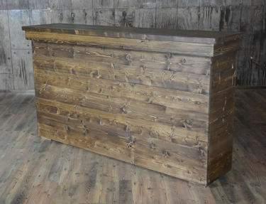 Fruitwood Facade Bar 6'