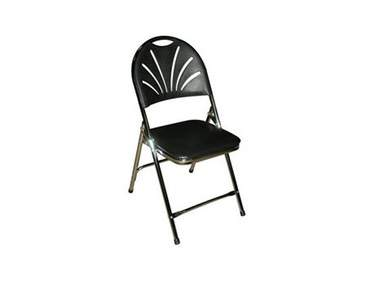Black Deluxe Padded Chair