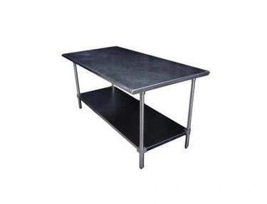 Stainless Steel Table With Wheels