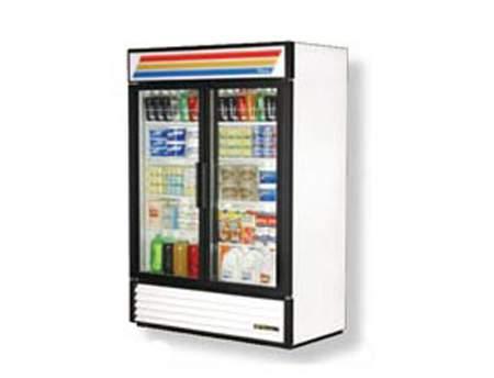 2 Door Display Refrigerator