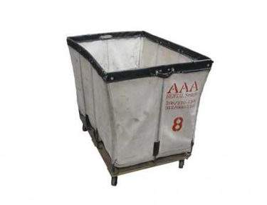 Laundry Cart Style Basket