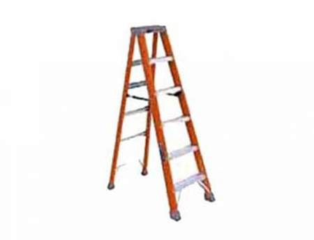 Fiberglass Step Ladder 10'