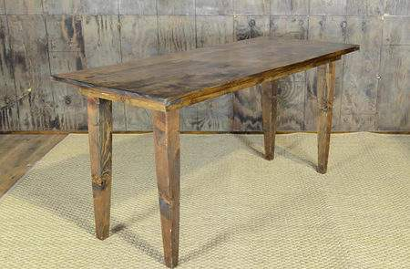 "Fruitwood Vineyard Table - 6'x30"" Seating Height"