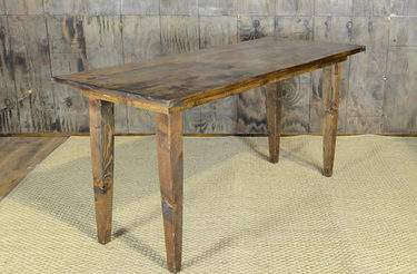 "Fruitwood Vineyard Table - 8'x40"" Bar Height"