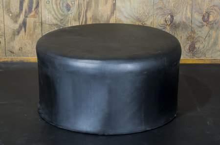 Ottoman Black Round 3'