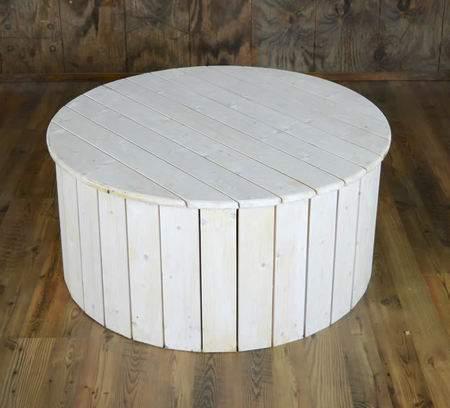 Ottoman White Pallet