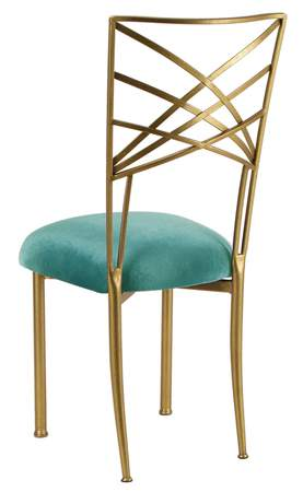 Fanfare Chair - Gold