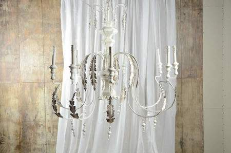 8 Light Persian White Motivo