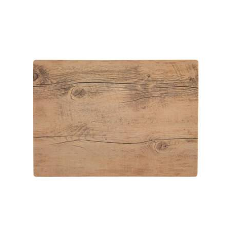 "14""x10"" Wood Pattern Melamine Tray"