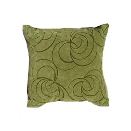 Lime Swirl Pillow