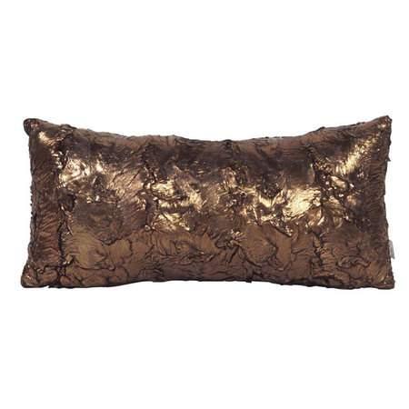 Gold Cougar Kidney Pillow