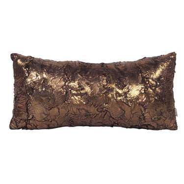 Gold Cougar Kidney Pillow