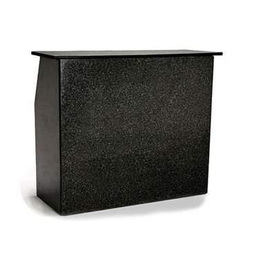 6' Black Granite Bar