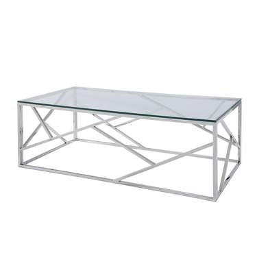 Glass Alondra Cocktail Table