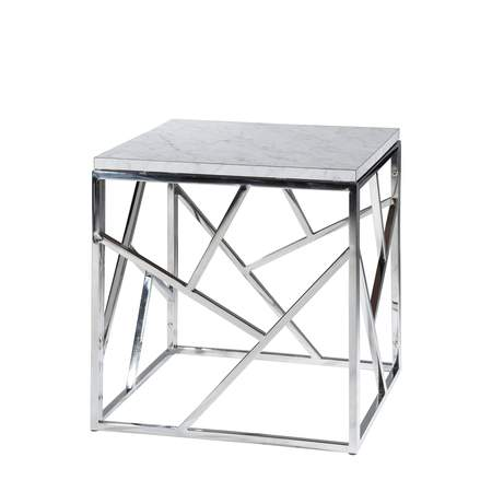 Marble Alondra End Table