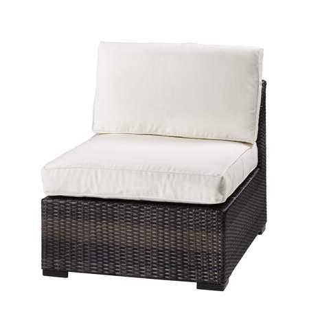 Cream Boca Armless Chair