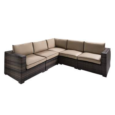 Tan Boca Sectional