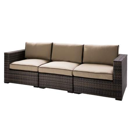 Tan Boca Sofa