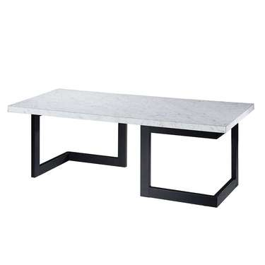 Marble Geo Cocktail Table