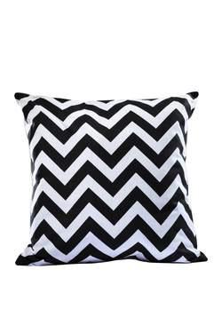 Black Chevron Pillow