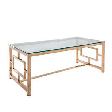 Rose Gold Hayworth Cocktail Table