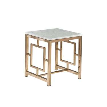 Rose Gold Hayworth End Table