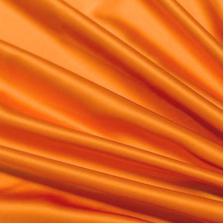 "Orange Satin - 90""x132"" Drape"