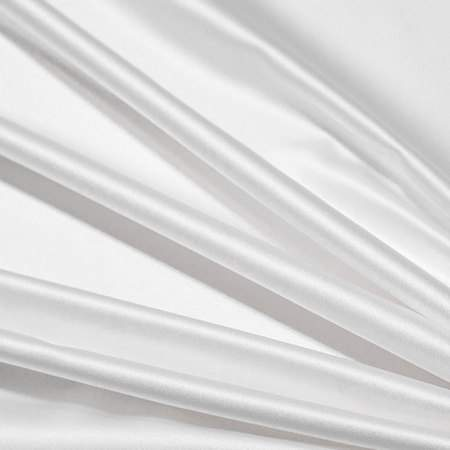 "White Satin - 90""x132"" Drape"