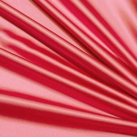 "Flaming Coral Satin - 108"" Round"