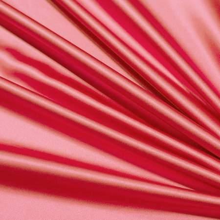"Flaming Coral Satin - 90""x132"" Drape"