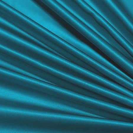 "Turquoise Satin - 90""x156"" Drape"
