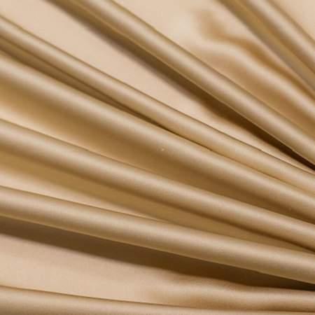"Gold Dust Crepe Satin - 108"" Round"