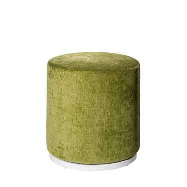 Meadow Green Marche Swivel Ottoman