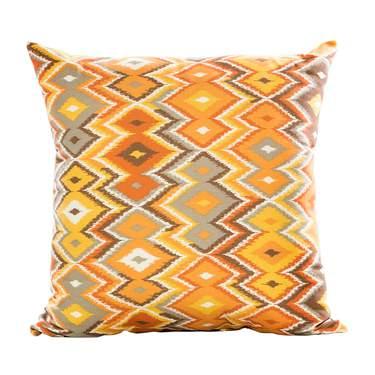 Orange Zig Zag Pillow